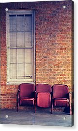 Acrylic Print featuring the photograph Take A Seat by Trish Mistric