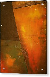 Take A Sip Of The Golden Hour Acrylic Print by Anne-Elizabeth Whiteway