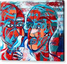 Take Care  My Love Acrylic Print by Rollin Kocsis