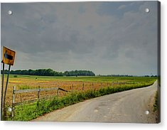 Take Me Home Acrylic Print by Off The Beaten Path Photography - Andrew Alexander