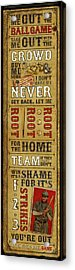 Take Me Out The The Ballgame Acrylic Print by Jeff Steed