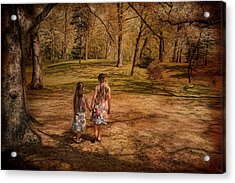 Take My Hand Acrylic Print by Robin-Lee Vieira