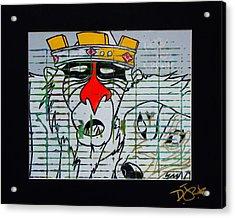 Take The Crown Acrylic Print