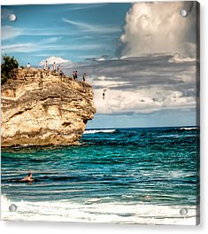 Take The Plunge Acrylic Print
