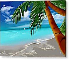 Takemeaway Beach Acrylic Print