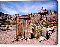 Acrylic Print featuring the photograph Takin A Break by Onyonet  Photo Studios