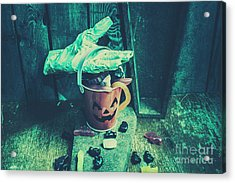 Taking Candy From The Little Monsters Acrylic Print by Jorgo Photography - Wall Art Gallery