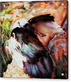 Taking Care Acrylic Print by Paul Tokarski