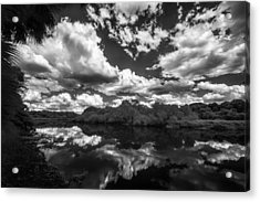 Taking In The Park Acrylic Print by Jon Glaser