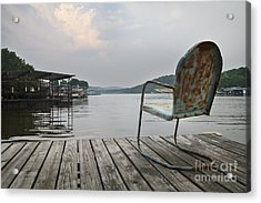 Sittin' On The Dock  Acrylic Print
