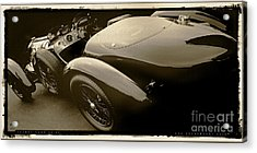Talbot Lago 26 Ss Acrylic Print by Curt Johnson
