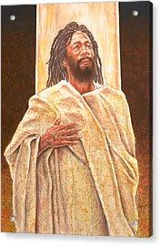 Talkin' Bout Jesus Acrylic Print by Raymond Walker
