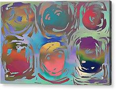 Talking Heads  Acrylic Print