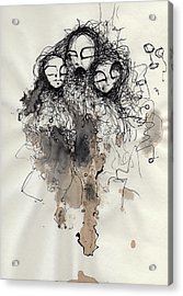 Talking To Yourself Again  Acrylic Print by Mark M  Mellon