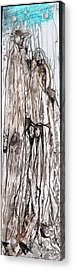 Tall  Acrylic Print by Anne-D Mejaki - Art About You productions