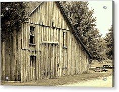 Tall Barn Acrylic Print
