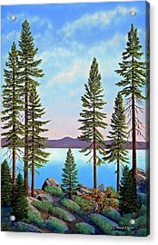 Tall Pines Of Lake Tahoe Acrylic Print