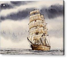 Tall Ship Adventure Acrylic Print by James Williamson