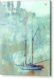 Tall Ship Adventuress Acrylic Print