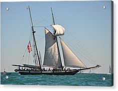 Tall Ship Acrylic Print