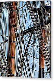 Tall Ship Series 11 Acrylic Print by Scott Hovind