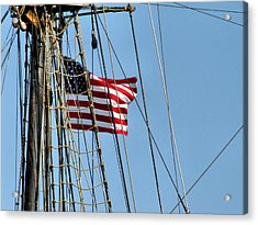 Tall Ship Series 3 Acrylic Print by Scott Hovind