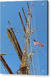 Tall Ship Series 8 Acrylic Print by Scott Hovind