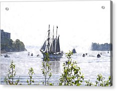 Tall Ship Tswc Acrylic Print