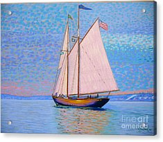 Tall Ship Virginia Entering Halifax Harbour Acrylic Print