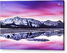 Tallac Reflections, Lake Tahoe Acrylic Print