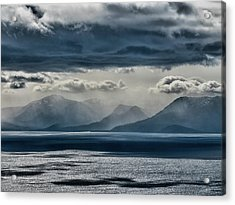 Tallac Stormclouds Acrylic Print