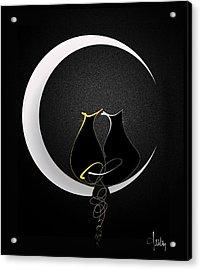 Talleycats - Moonglow Acrylic Print