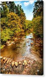 Tallulah River Acrylic Print