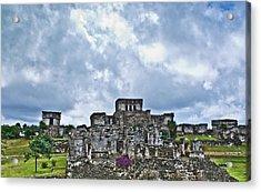 Talum Ruins 8 Acrylic Print