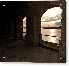 Tamar Estuary Sunset Acrylic Print
