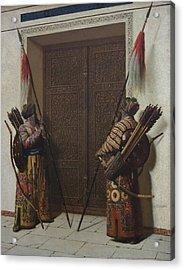 Tamerians Doors Acrylic Print by Vasily Vereshchagin