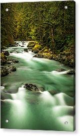 Tamihi Creek Acrylic Print