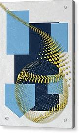 Tampa Bay Rays Art Acrylic Print by Joe Hamilton