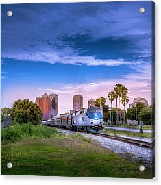 Tampa Departure Acrylic Print