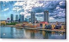 Tampa Florida Skyline Acrylic Print
