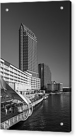Tampa Gateway Acrylic Print by Marvin Spates