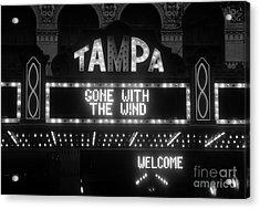 Tampa Theatre 1939 Acrylic Print by David Lee Thompson