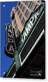 Tampa Theatre  Acrylic Print by Carol Groenen