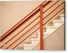 Tan Stairs Venice Beach California Acrylic Print