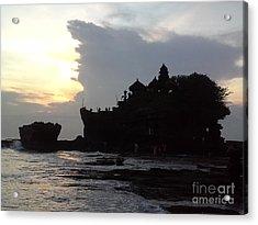 Tanah Lot Temple Bali Indonesia Acrylic Print