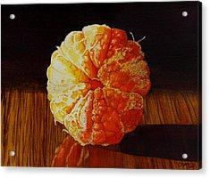 Tangerine Acrylic Print by Catherine G McElroy