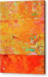 Tangerine Dream Acrylic Print by Skip Hunt