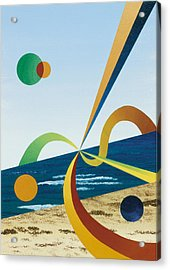 Tangers  Acrylic Print by Eliot LeBow