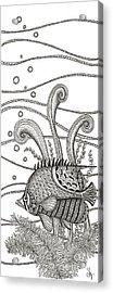Tangle Fish Acrylic Print