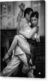 Tangled In Tango Acrylic Print